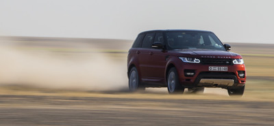 El Range Rover Sport atravesó el desierto árabe en 10 horas y 22 minutos