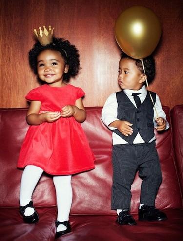Moda fiesta para niños: los peques se visten de gala