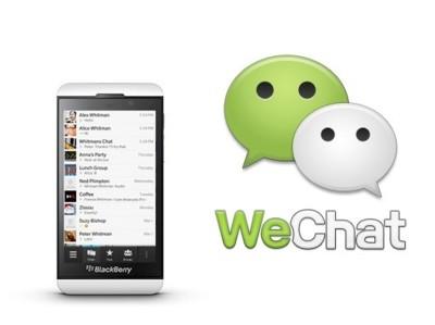 WeChat da el salto a BlackBerry 10