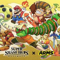 Min Min ya está disponible en Super Smash Bros. Ultimate junto con la versión 8.0.0
