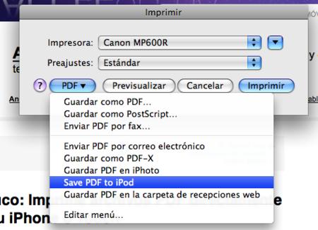 Truco: Imprime archivos PDF directamente desde Mac a tu iPhone o Touch