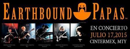 Ya están a la venta los boletos para el concierto de Earthbound Papas en Monterrey