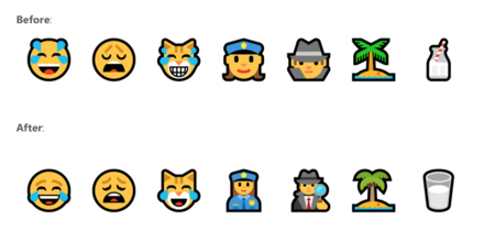 Nuevos Emojis Windows 10