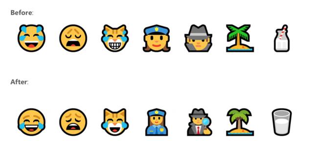 Nuevos Emojis Windows® 10