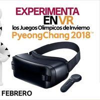 Los Juegos Olímpicos de Invierno de PyeongChang 2018 podrán verse en realidad virtual en México y América Latina