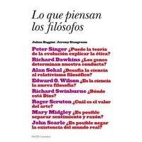 [Libros que nos inspiran] 'Lo que piensan los filósofos' de Julian Baggini y Jeremy Stangroom