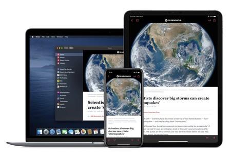 Apple News en iPhone y iPad