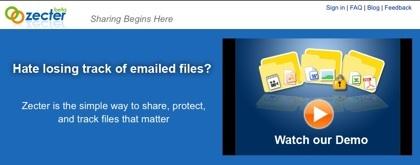 Zecter, comparte tus propios archivos desde tu sistema con quien quieras