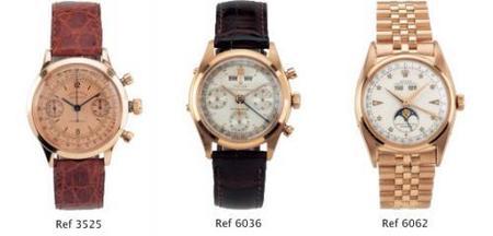 Rolex para la subasta de marzo 2009