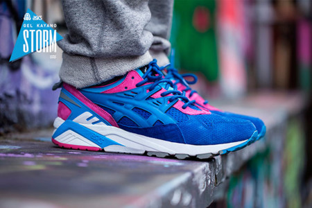 Asics Tiger Footpatrol Gel Kayano Blue 4