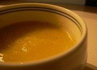 Sopa fría de melón y mango