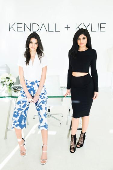 ¡Han llegado, ya están aquí, las primeras imágenes de la colección debut Kendall + Kylie!