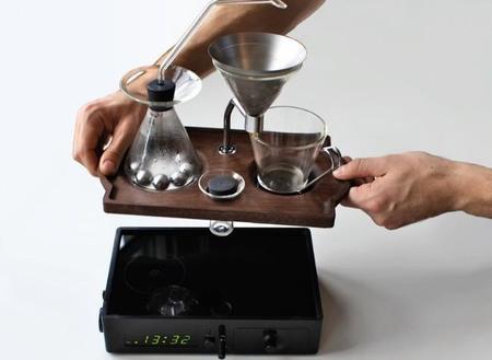 The Barisieur. Despiértate con un café recién hecho