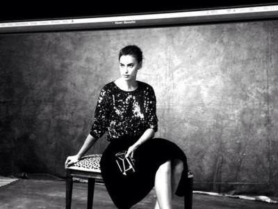 Irina Shayk es el nuevo gran fichaje de Suiteblanco para su colección de fiesta