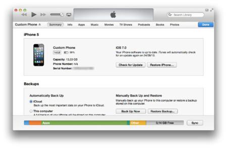 Gestiona el almacenamiento de tu dispositivo iOS