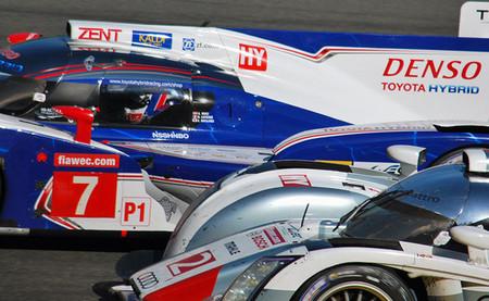 Le Mans 24h Toyota Audi