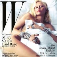 Miley Cyrus cada día me sorprendes más, y tu portada de W es un ejemplo de ello