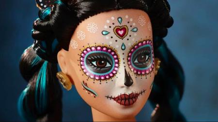 Maquillaje de calavera Mexicana