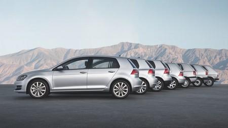 Generaciones Volkswagen Golf