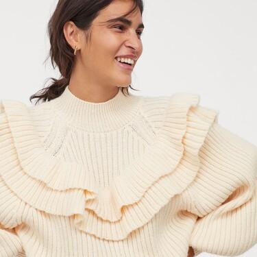 Los jerséis de H&M son así de ideales y calentitos para lucir todo el invierno