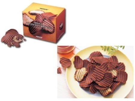 Patatas fritas con chocolate