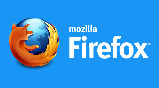 Pantalla de inicio de Firefox Modern UI