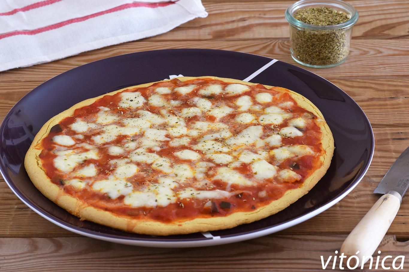 Pizza Con Harina De Garbanzos Receta De Cocina Saludable Fácil Y Deliciosa