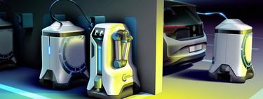 """Cualquier cajón de estacionamiento será un punto de carga con los """"cargadores robotizados"""" de Volkswagen"""