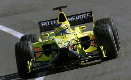 Jordan EJ11 2001 - Jarno Trulli
