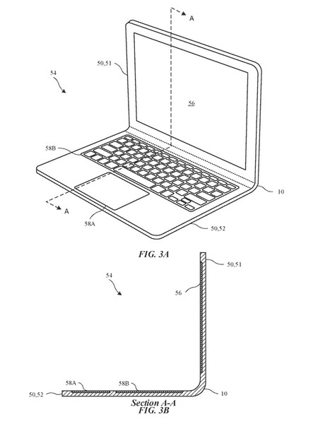 Patente Macbook Plegable