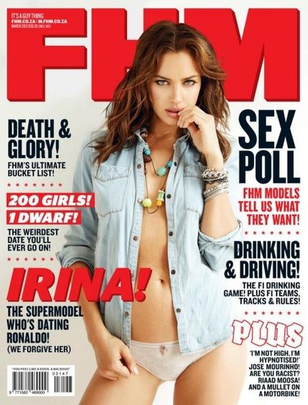 Irina Shayk, si enseñases menos carne, tu Cristiano no se te mosquearía