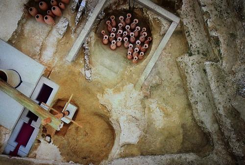 Lagar de Osset, centro de interpretación arqueológica de San Juan de Aznalfarache