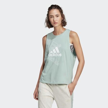Camiseta De Tirantes Adidas Essentials Stacked Logo