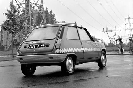 Edf Renault 5 Electrique