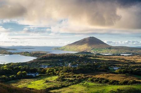 Las vistas más espectaculares de Irlanda. Parque Nacional de Connemara