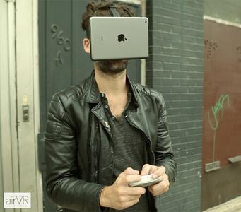 AirVR, ¿te atreverías a ir con un iPad Mini pegado a la cara?