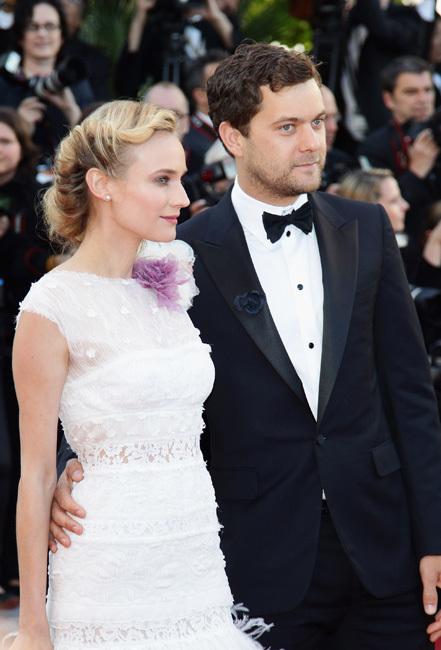 Diane Kruger y Joshua Jackson Cannes 2012