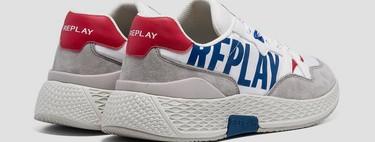 Cinco zapatillas de Replay de diseño retro llenas de color que van con todos tus looks