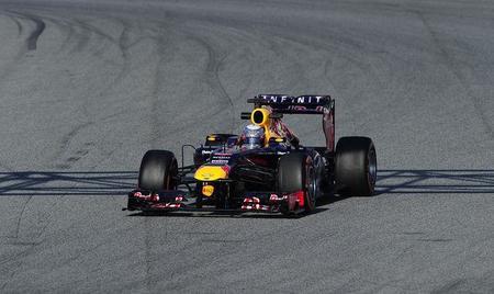 Sebastian Vettel admitió que su RB9 presentó problemas