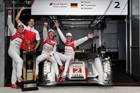 24 horas de Le Mans 2013: homenaje a Audi