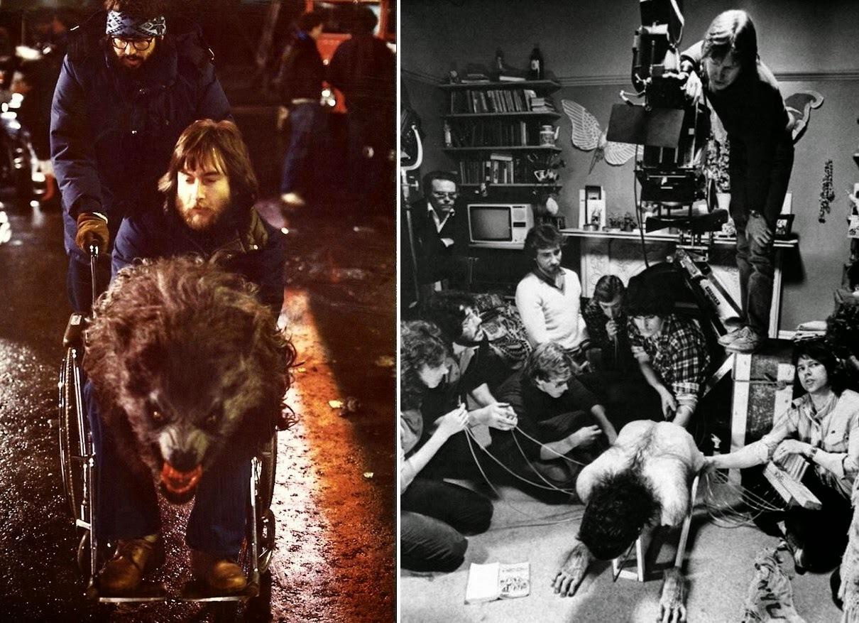 Rick Baker, fotografías de su impresionante trabajo en el cine