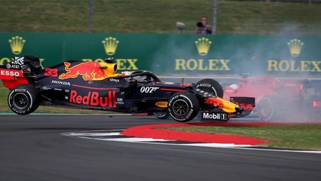 Verstappen Vettel Silverstone F1 2019