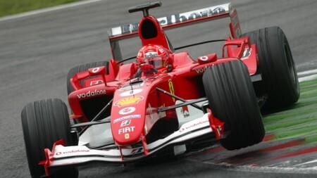 Schumacher F1 2004