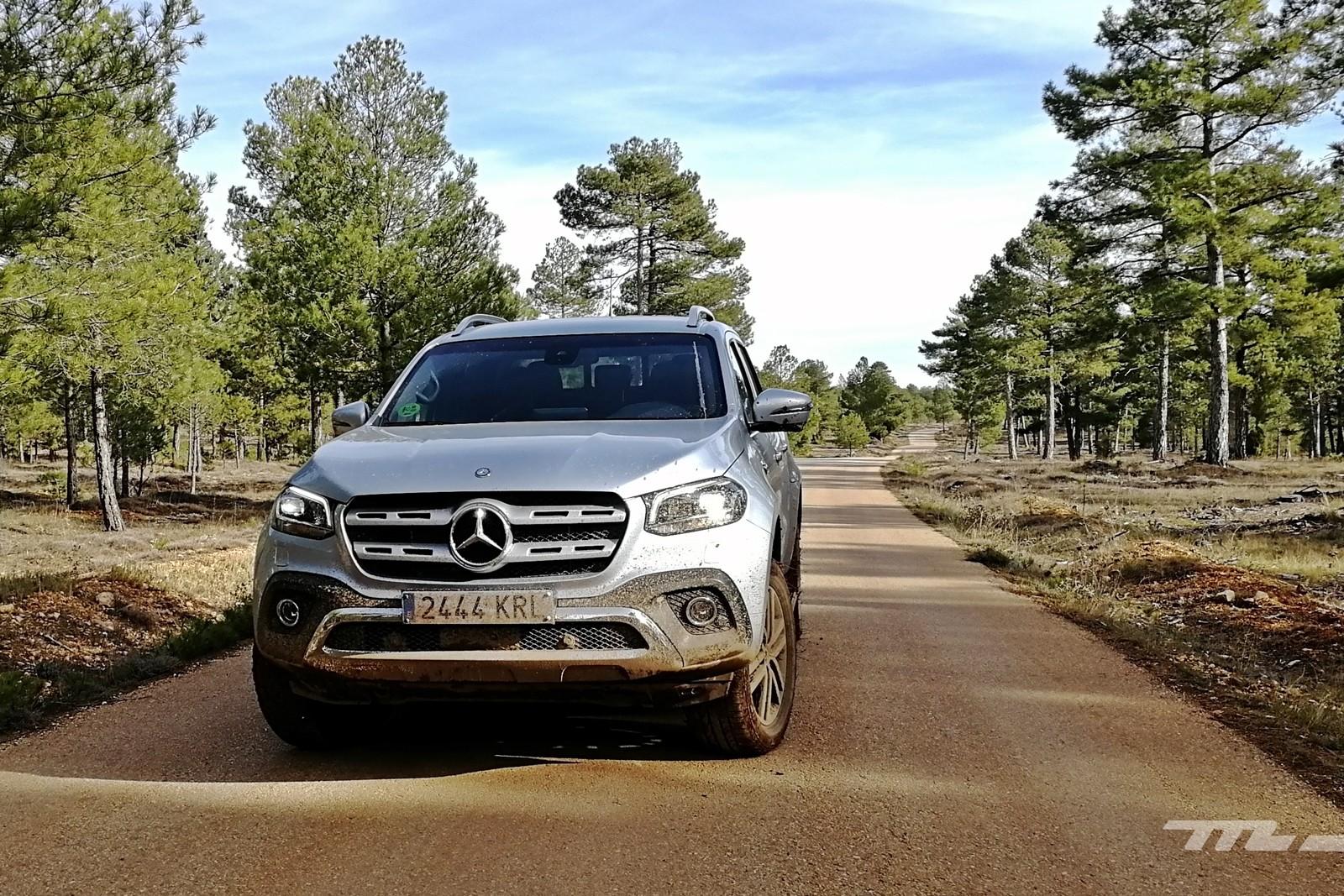 Foto de Mercedes-Benz Clase X 350d 2019 prueba contacto (8/78)