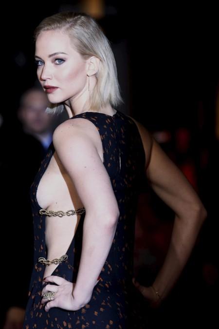 Espectacular, Jennifer Lawrence nos deja boquiabiertos en el estreno de Los Juegos del Hambre en Londres