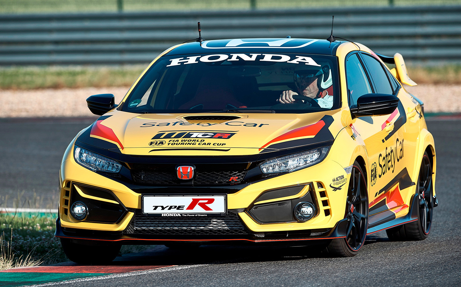 Foto de Honda Civic Type R Limited Edition Safety Car WTCR 2020 (7/9)