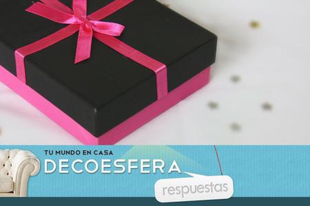 ¿Hacéis o esperáis regalos decorativos estas Navidades? La pregunta de la semana