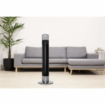Oferta de Amazon en el ventilador de torre Princess 350000 (compatible con Alexa): ahora cuesta 119,41 euros