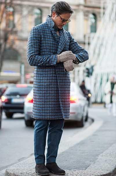 Los Cuadros Invaden El Mejor Street Style De La Semana Este Otono Alrededor Del Mundo 12
