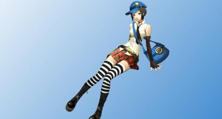 Marie y sus nuevas imágenes de Persona 4 Arena Ultimax